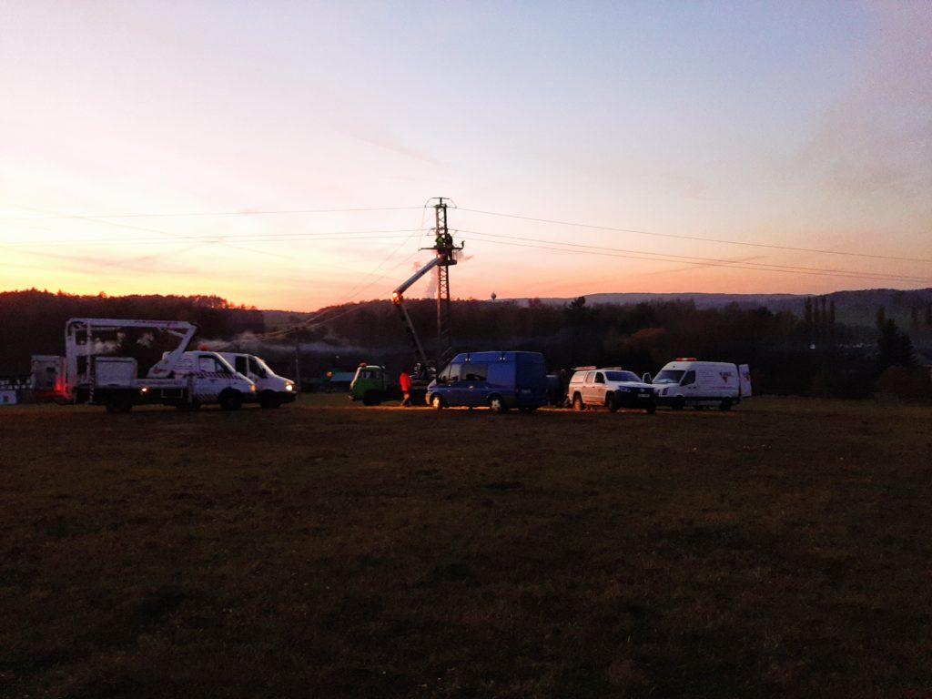Višňová rekonstrukce vedení VN 22 kV – 2.část